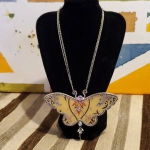 Pilgrim butterfly necklace